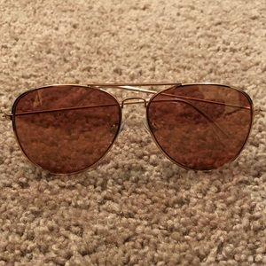 H&M Pink Aviator Sunglasses